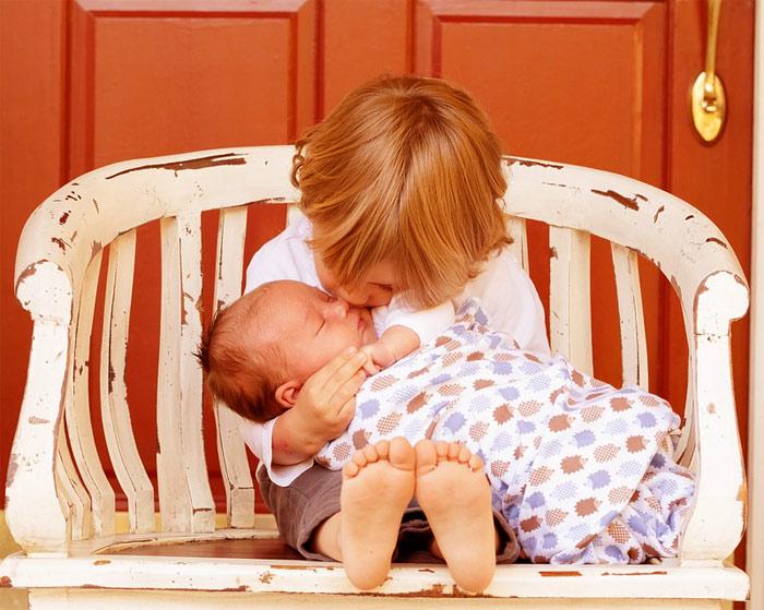 Barn ett och barn två