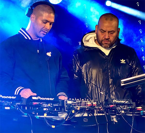 DJ:ing, en del av hip-hop
