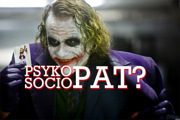 Psykopat eller sociopat?