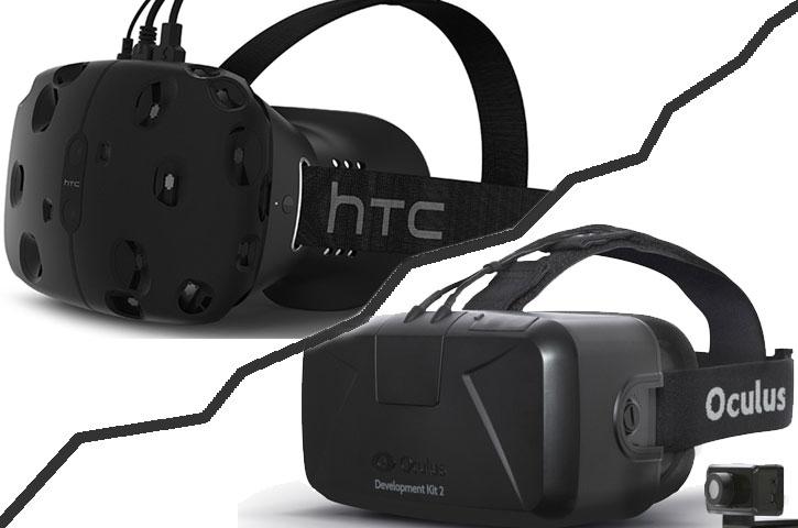 Skillnaden mellan Oculus Rift och HTC Vive
