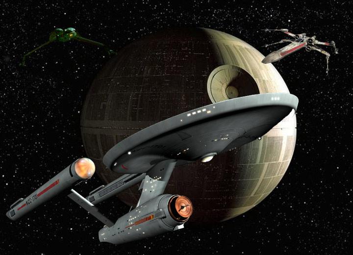 Skillnaden mellan Star Wars och Star Trek