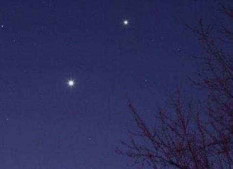 stjärna eller planet